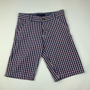 TOMMY HILFIGER Red, White and Blue Boys Shorts.